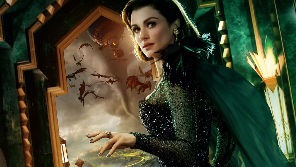 OZ THE GREAT AND POWERFUL dragon dragons wallpaper