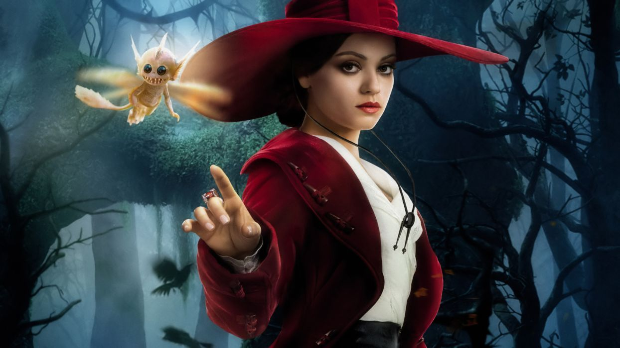 OZ THE GREAT AND POWERFUL kunis mila  d wallpaper