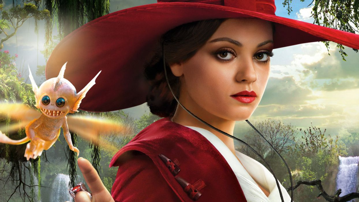 OZ THE GREAT AND POWERFUL kunis mila  f wallpaper