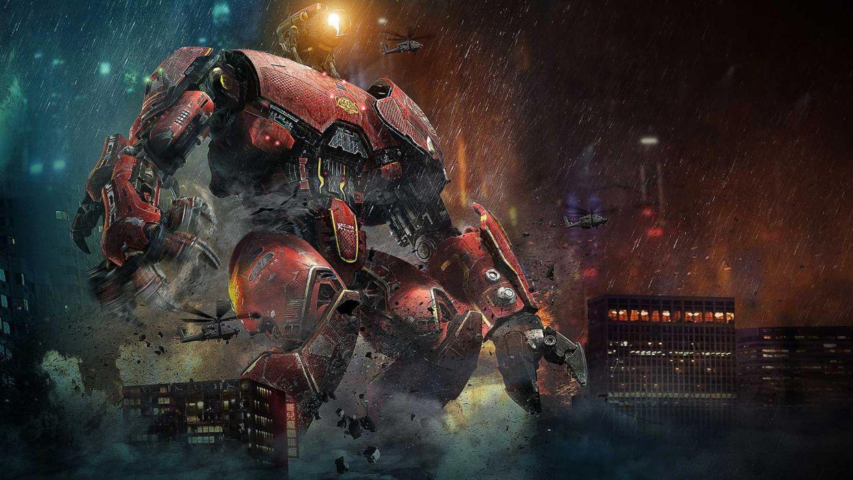PACIFIC RIM sci fi robot futuristic mecha     n wallpaper