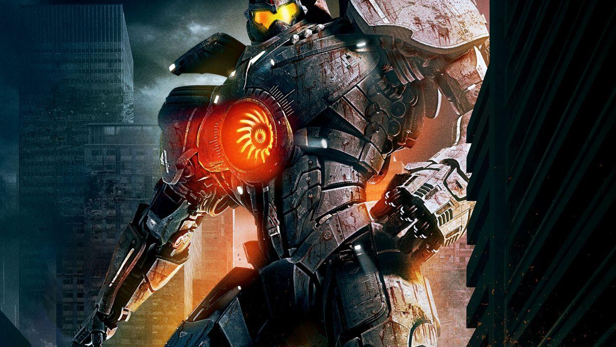 PACIFIC RIM sci fi robot futuristic mecha    f wallpaper