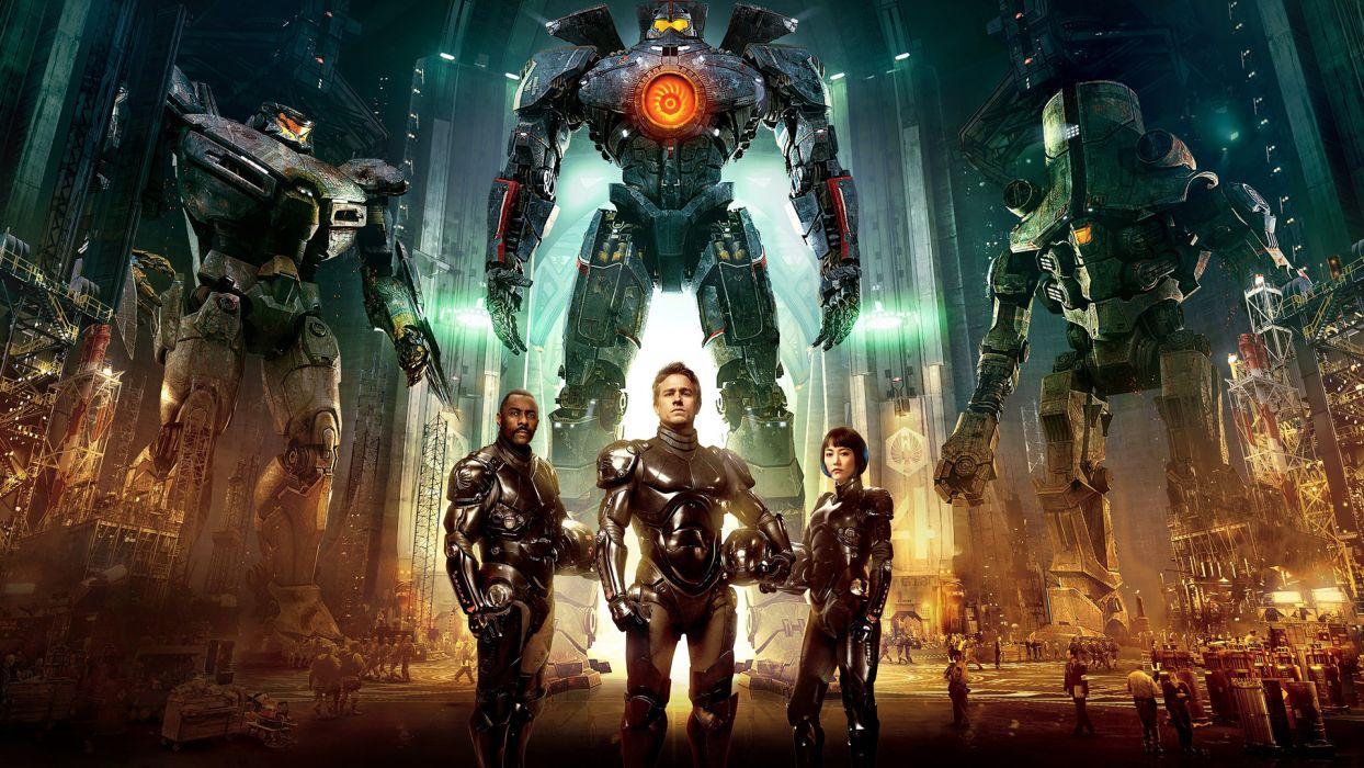 PACIFIC RIM sci fi robot futuristic mecha wallpaper