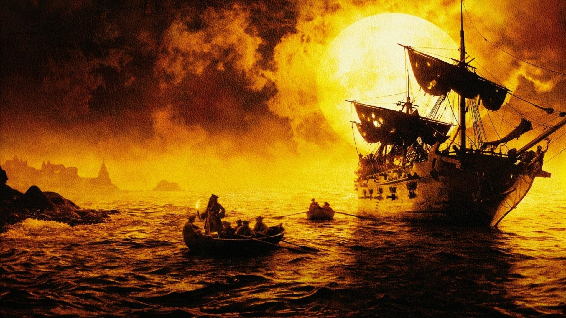 Pirates of the caribbean curse black pearl g wallpaper background