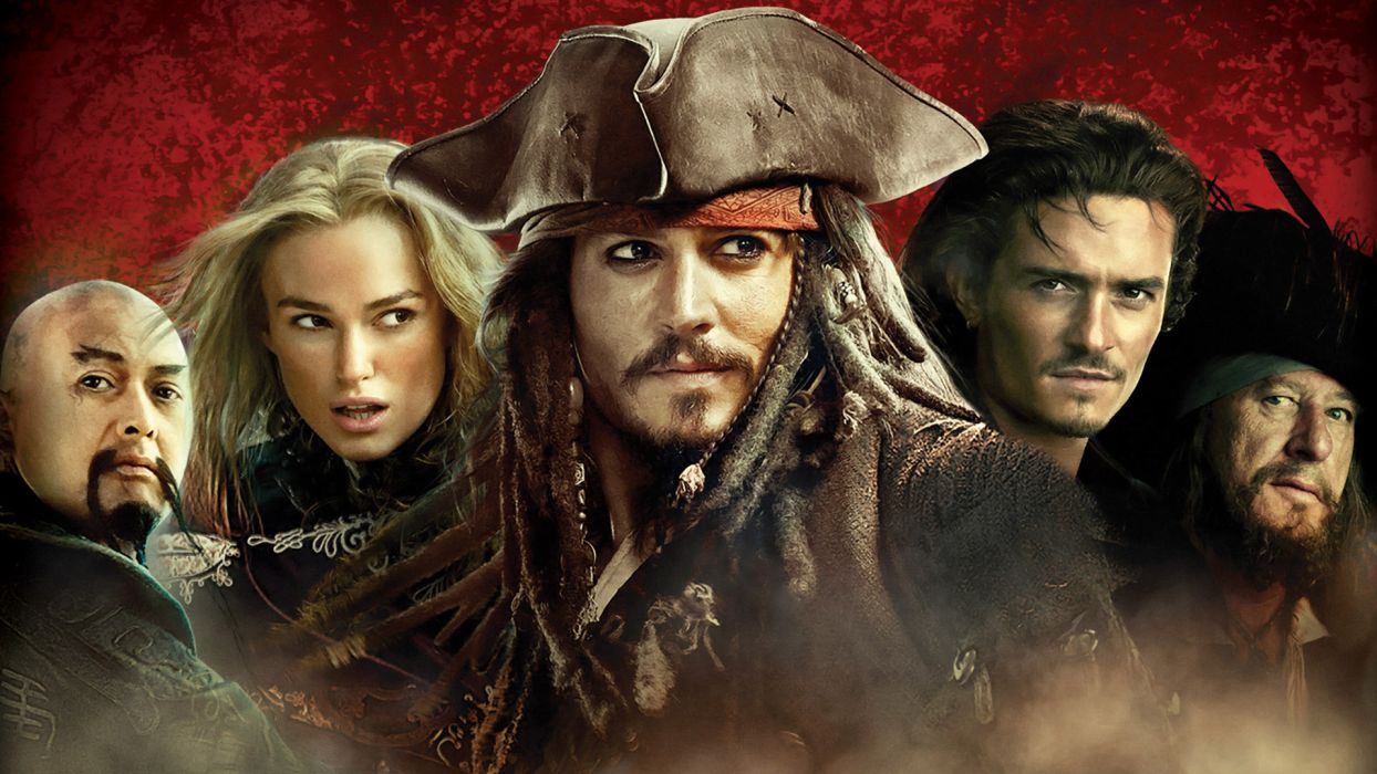 PIRATES OF THE CARIBBEAN WORLDS END    gf wallpaper