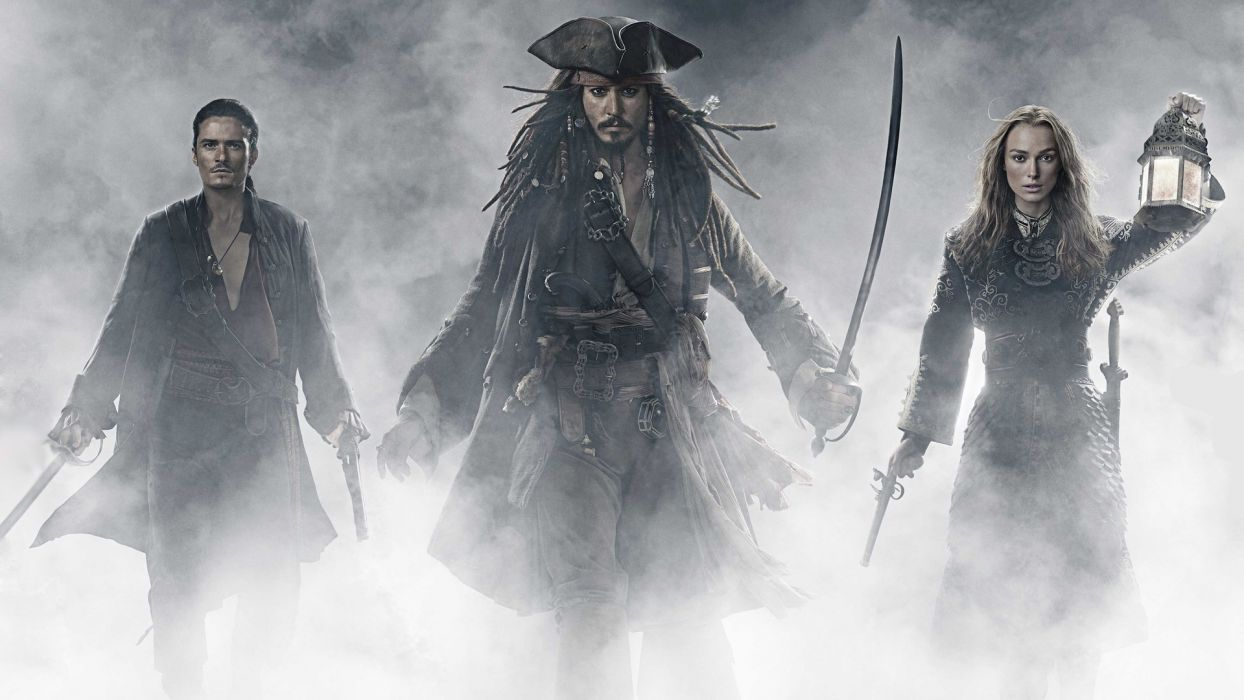 PIRATES OF THE CARIBBEAN WORLDS END wallpaper