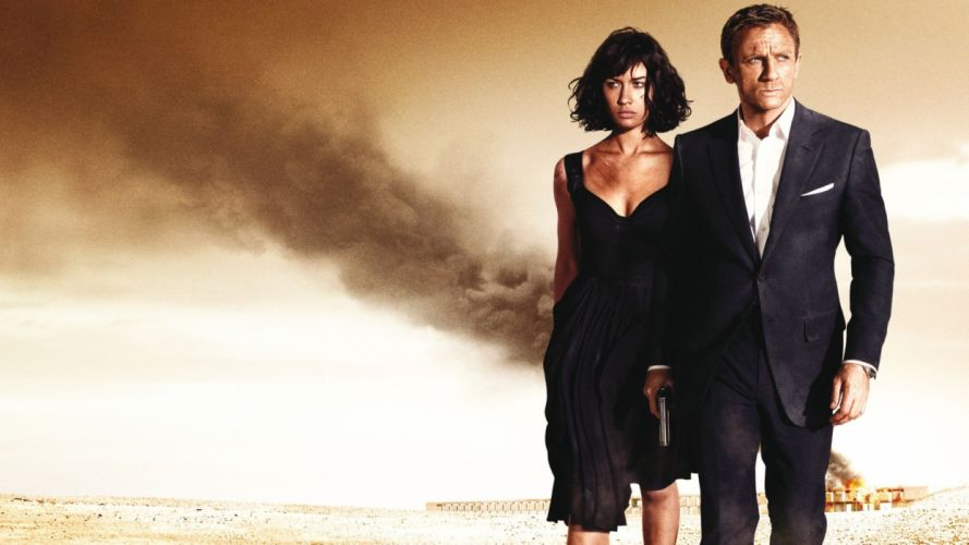 QUANTUM OF SOLACE 007 james bond f wallpaper