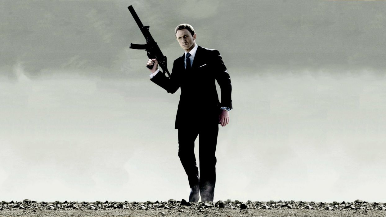 QUANTUM OF SOLACE 007 james bond wallpaper