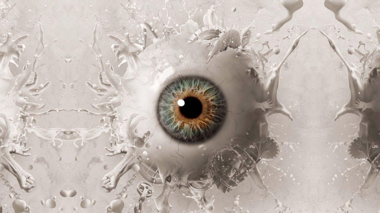 SAW 3D FINAL CHAPTER dark horror eye eyes wallpaper
