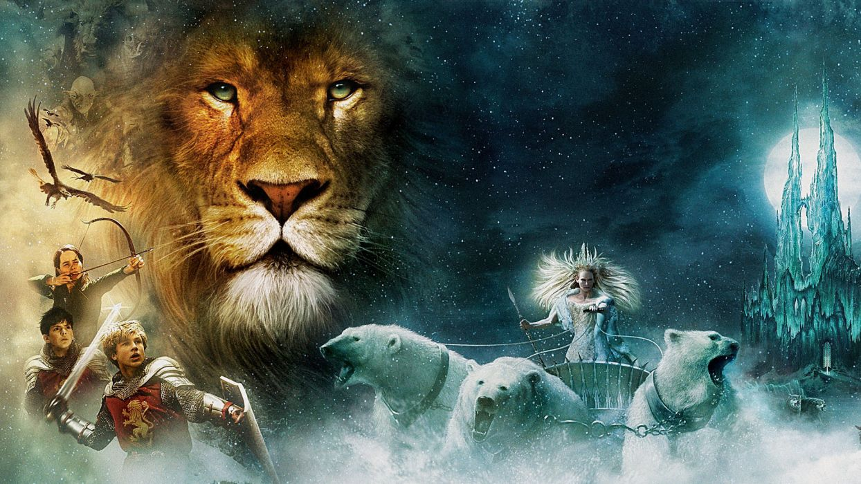 CHRONICLES OF NARNIA LION WITCH WARDROBE wallpaper