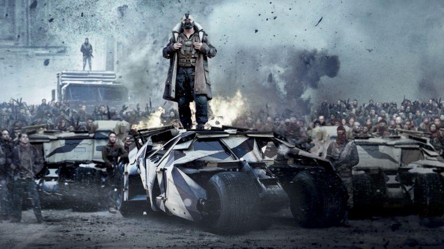 DARK KNIGHT RISES batman superhero bane h wallpaper