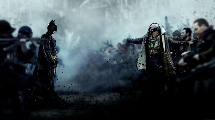 DARK KNIGHT RISES batman superhero bane hd wallpaper