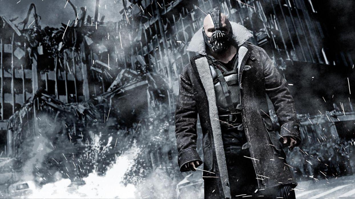 DARK KNIGHT RISES batman superhero bane mask    g wallpaper