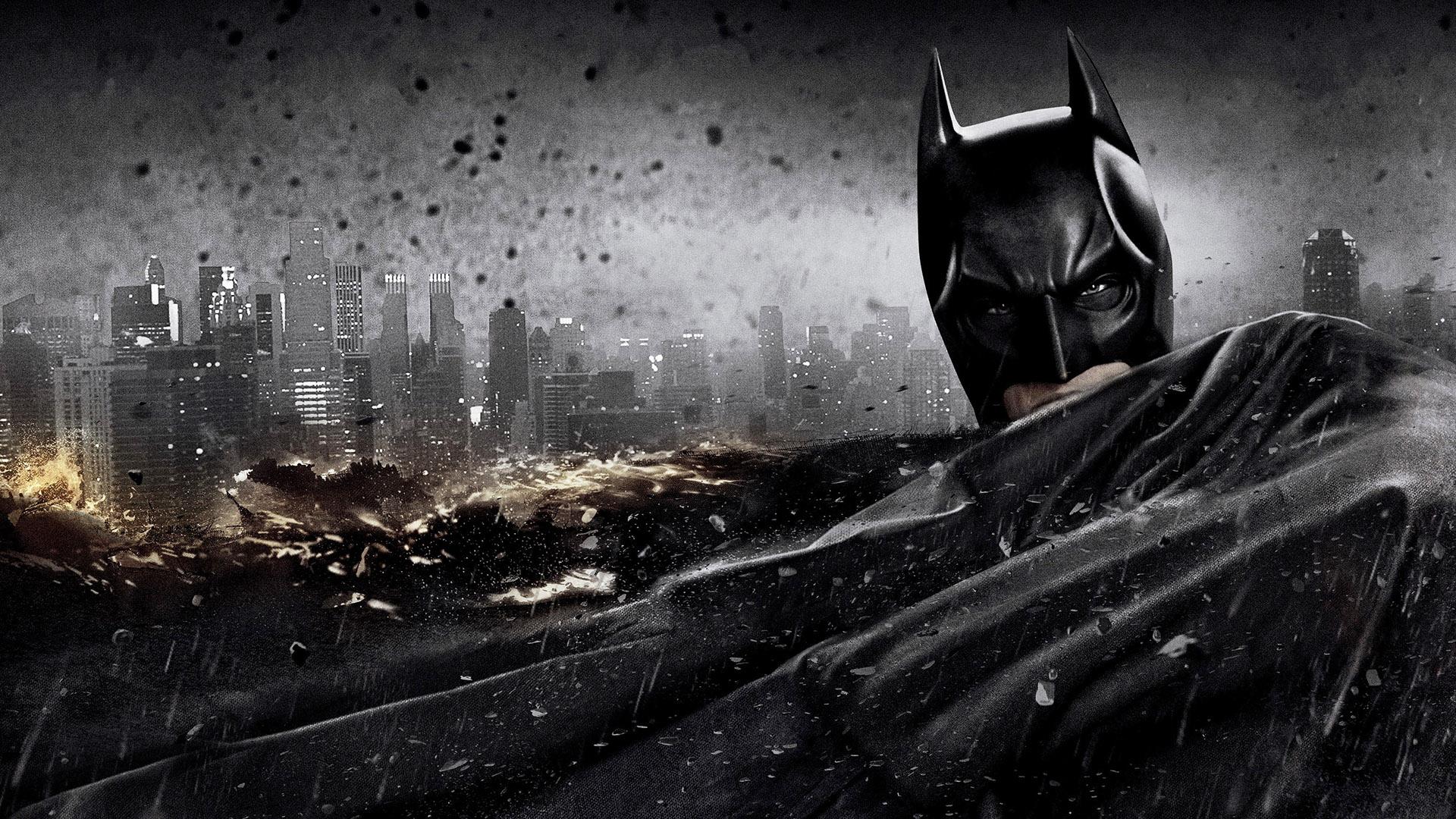Dark knight rises batman superhero wallpaper 1920x1080 for Dark knight rises wall mural