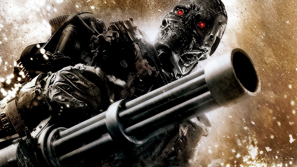 TERMINATOR SALVATION cyborg   f wallpaper