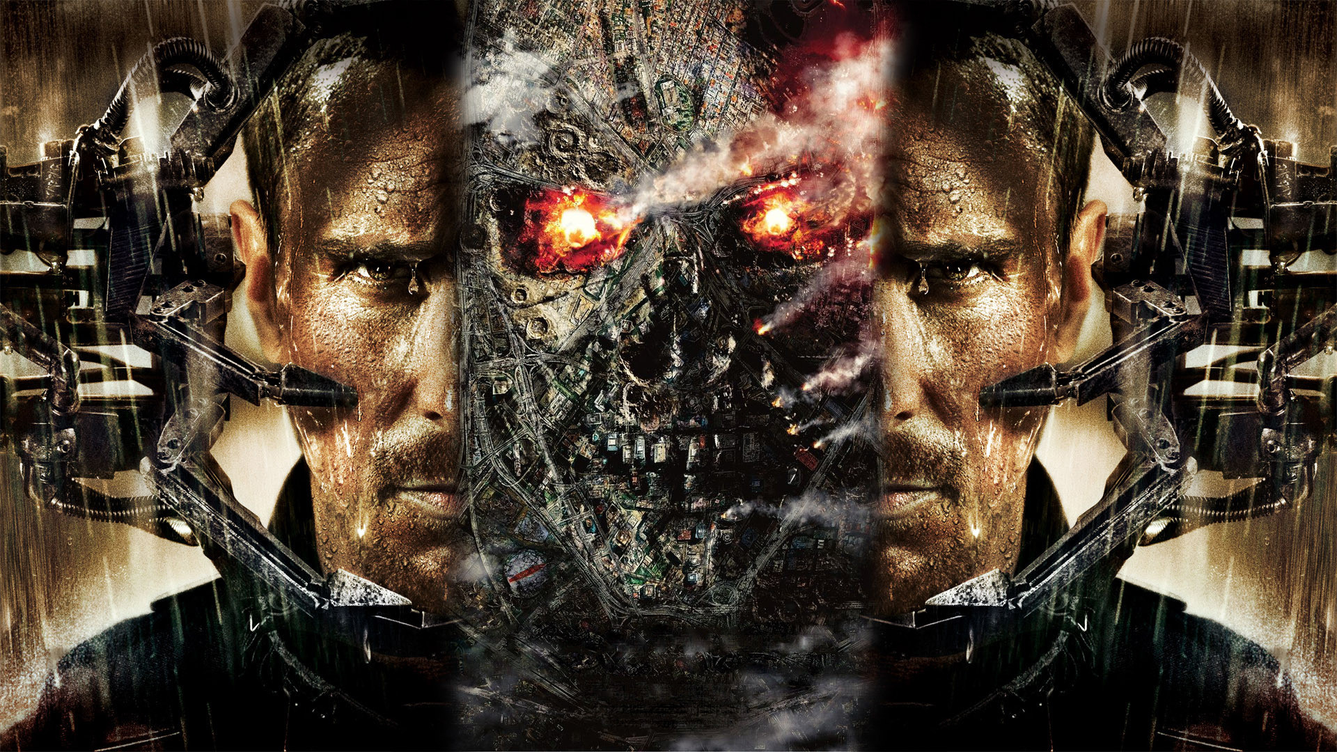 TERMINATOR SALVATION cyborg a wallpaper | 1920x1080 ...