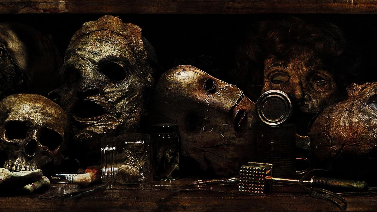 TEXAS CHAINSAW 3D dark horror    d wallpaper