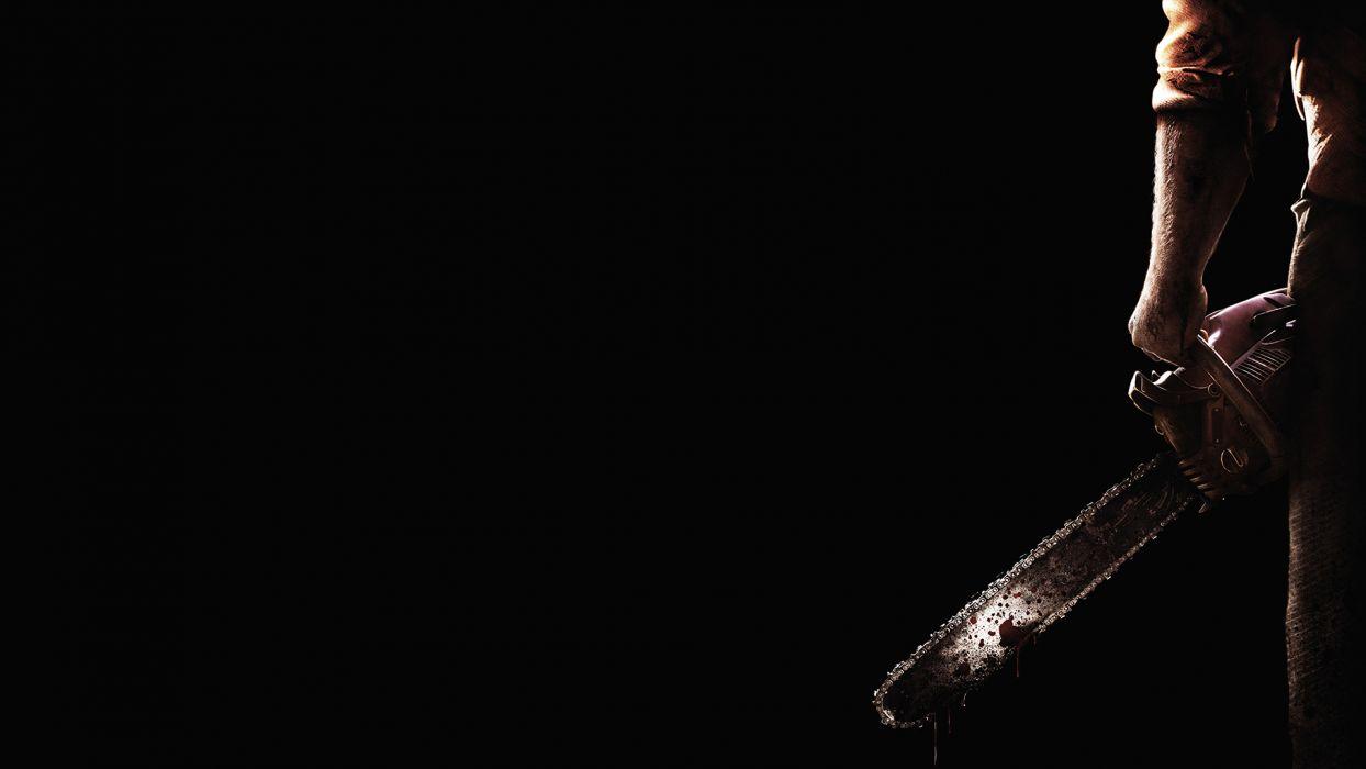 TEXAS CHAINSAW 3D dark horror wallpaper