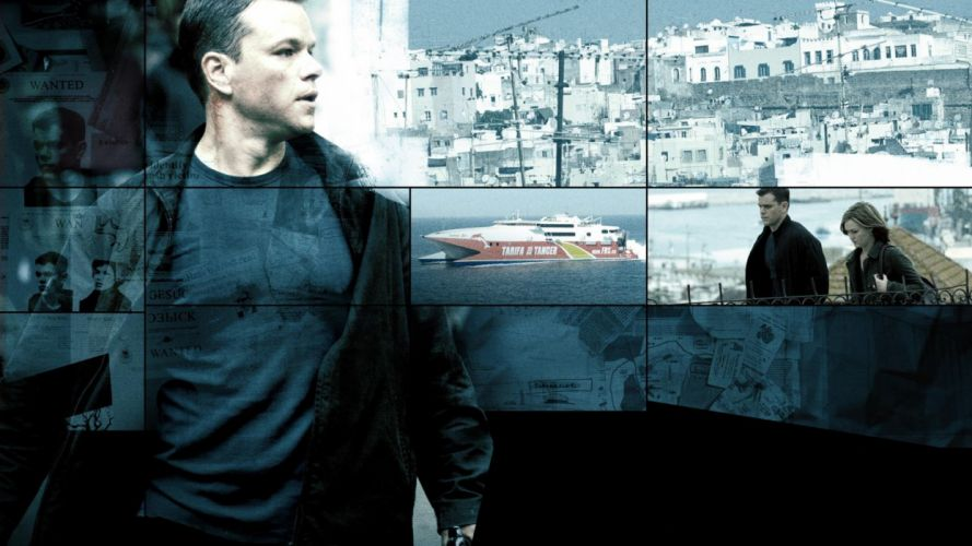 THE BOURNE ULTIMATUM d wallpaper