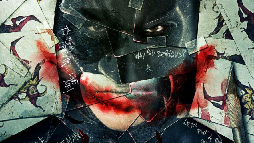 THE DARK KNIGHT batman superhero joker v wallpaper