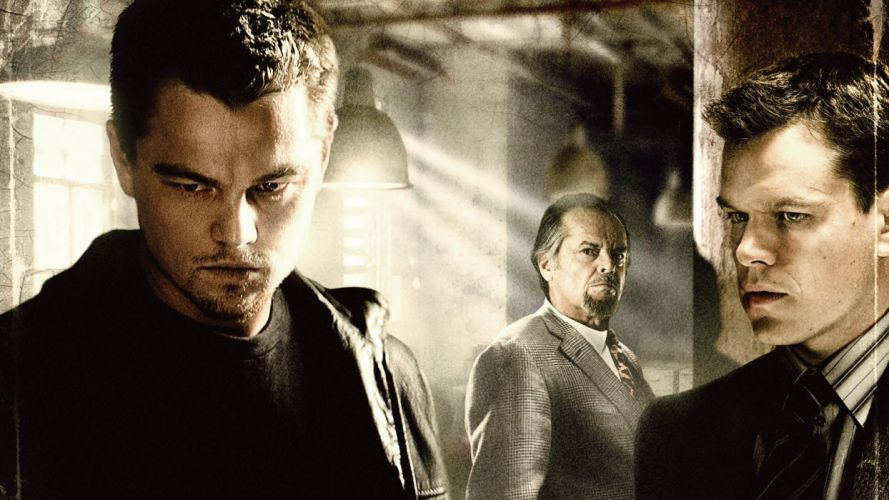 THE DEPARTED dicaprio wallpaper
