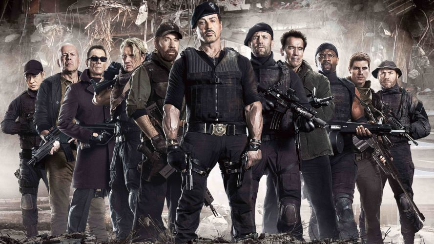 EXPENDABLES 2 f wallpaper