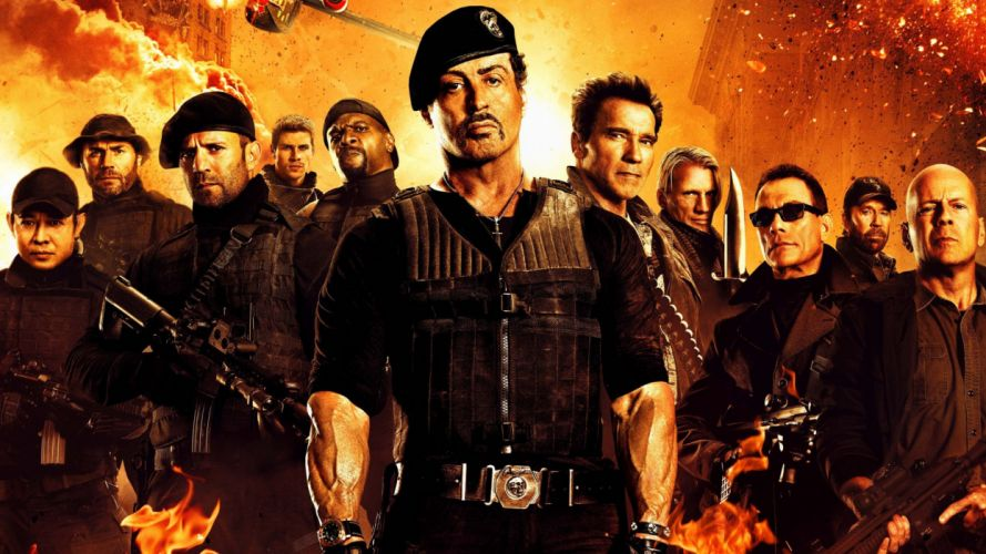 EXPENDABLES 2 wallpaper