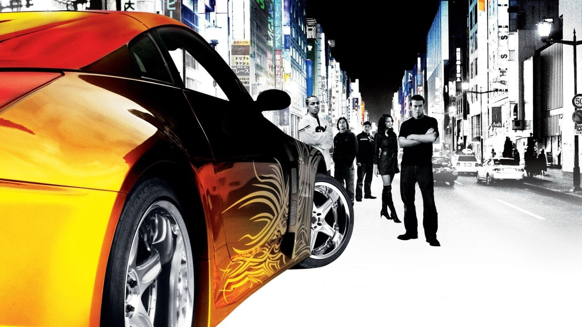 Fast And The Furious Tokyo Drift Tuning F Wallpaper