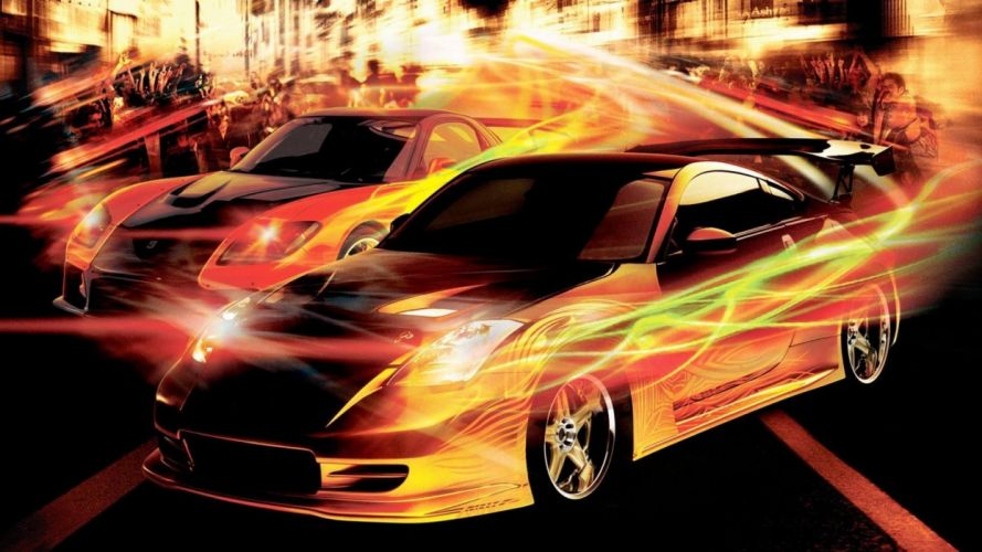 FAST AND THE FURIOUS TOKYO DRIFT tuning wallpaper