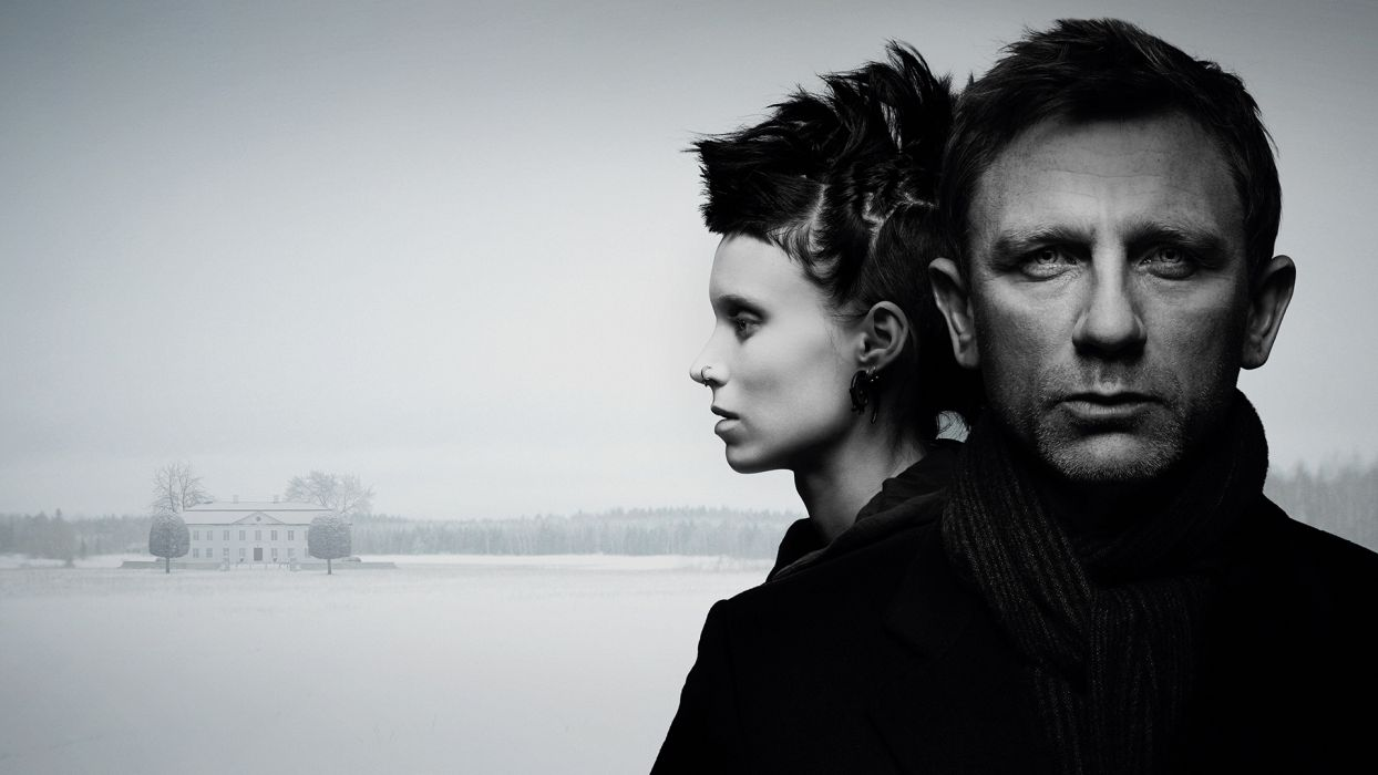 GIRL WITH THE DRAGON TATTOO        d wallpaper