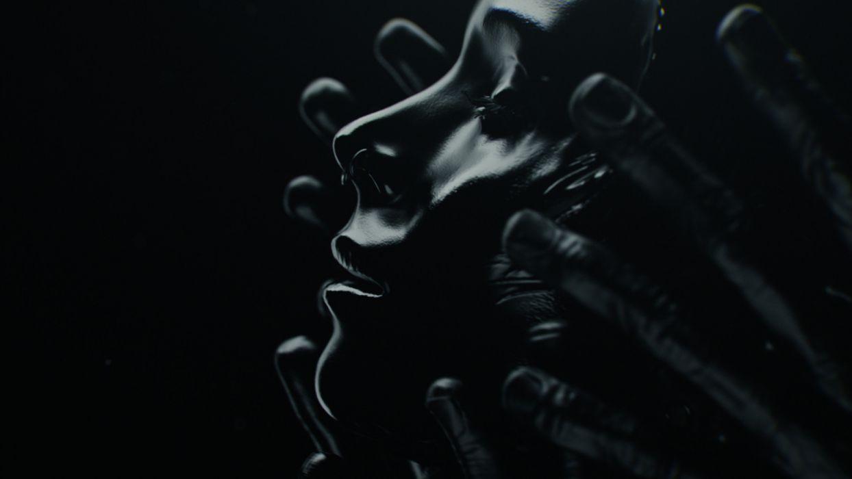 GIRL WITH THE DRAGON TATTOO dark mood bokeh wallpaper