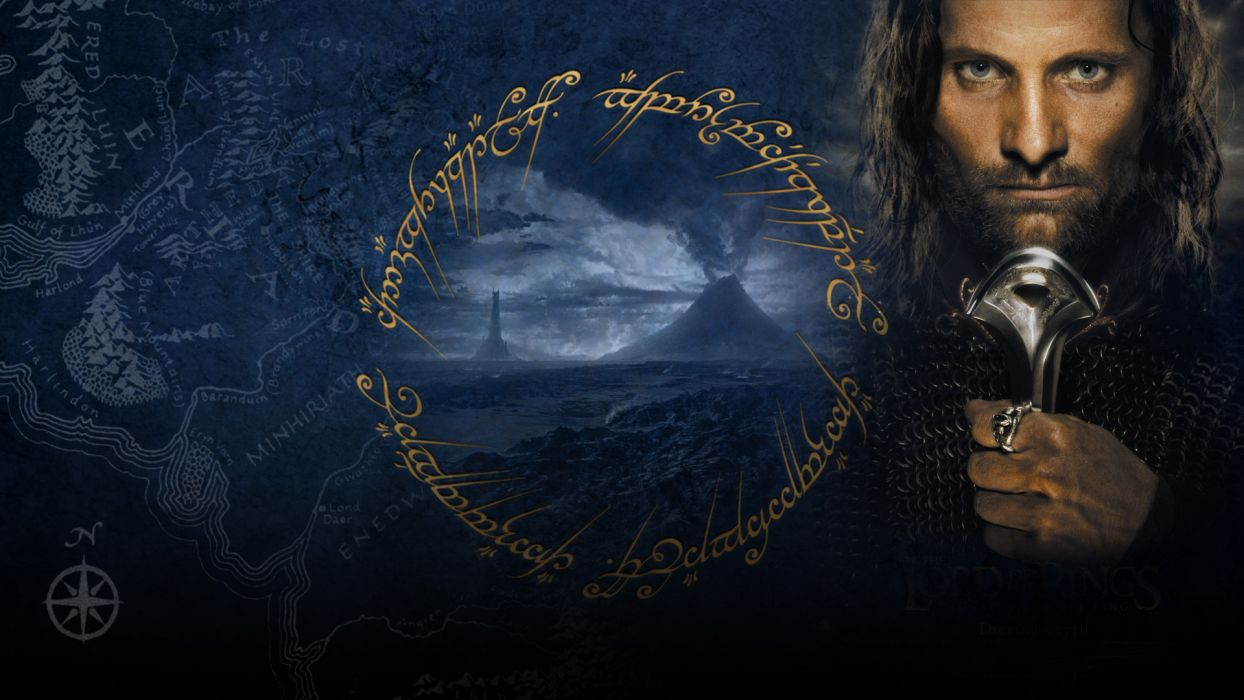 LORD OF THE RINGS RETURN KING fantasy wallpaper