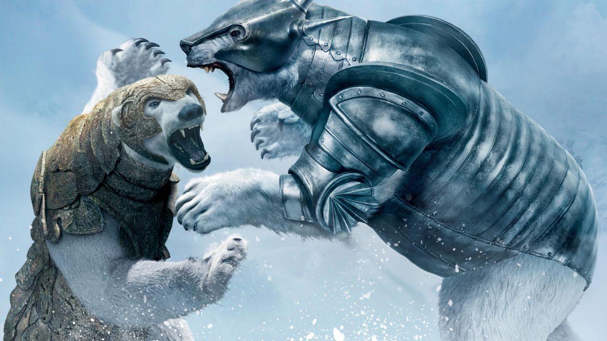 THE GOLDEN COMPASS fantasy bear wallpaper