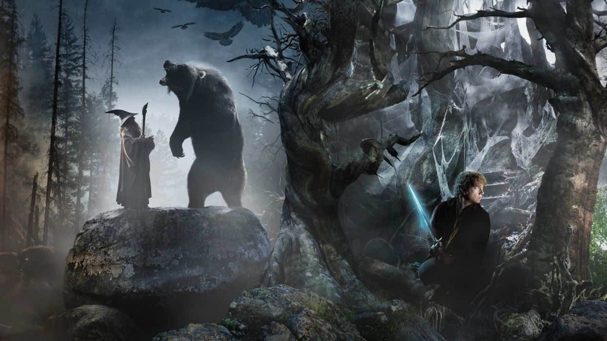 THE HOBBIT AN UNEXPECTED JOURNEY fantasy    g wallpaper