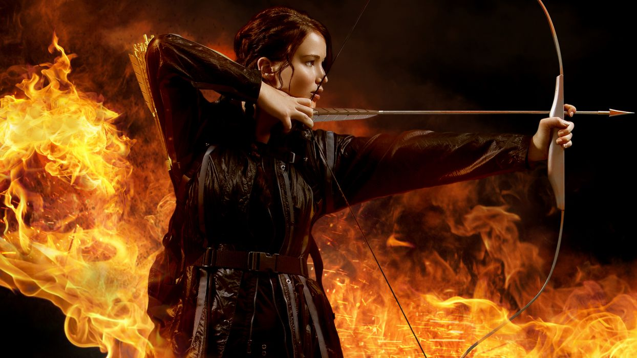 THE HUNGER GAMES      f wallpaper