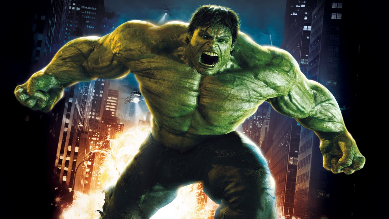 THE INCREDIBLE HULK superhero marvel    f wallpaper