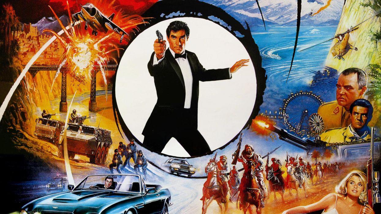 THE LIVING DAYLIGHTS james bond 007 wallpaper