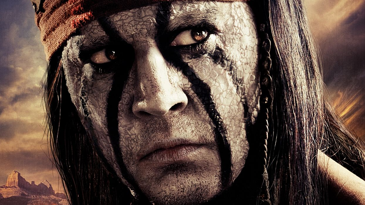 THE LONE RANGER western depp wallpaper