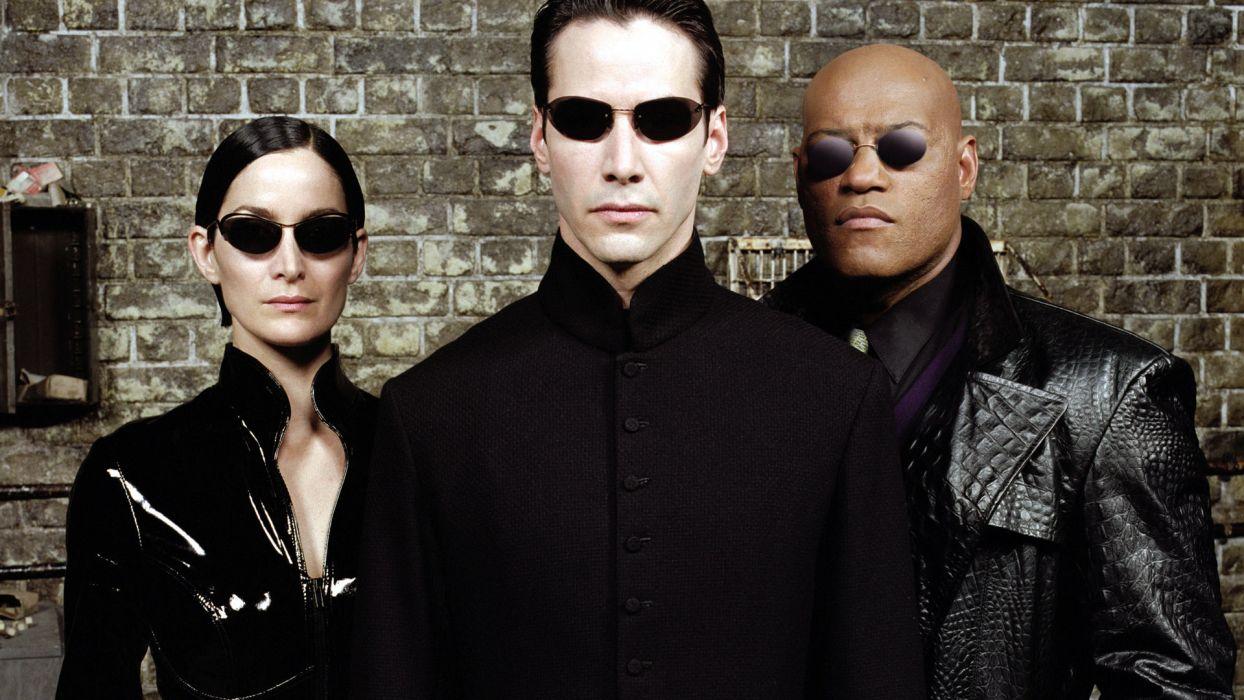 bd8048d2e3d0 THE MATRIX RELOADED glasses sunglasses sci-fi f wallpaper ...