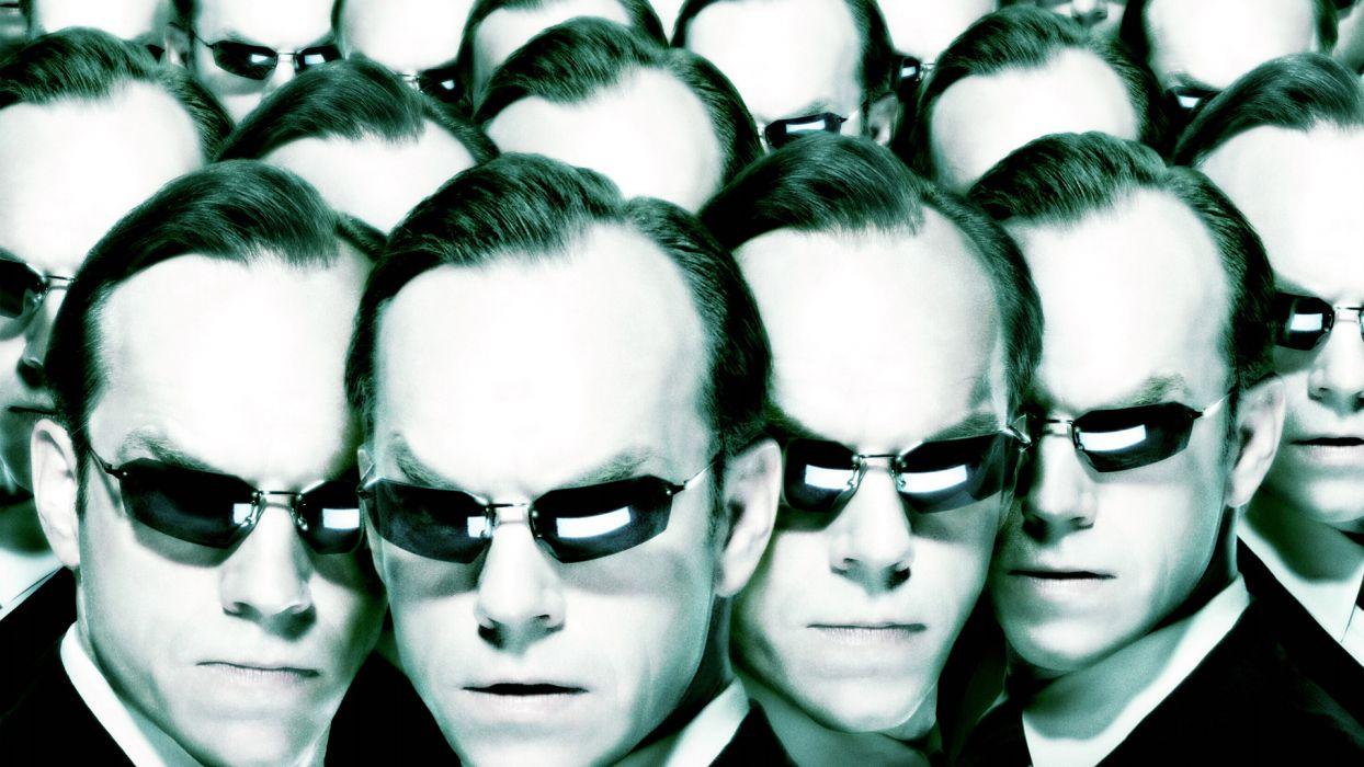 THE MATRIX RELOADED glasses sunglasses sci-fi    f wallpaper