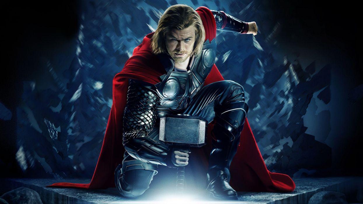 THOR avengers marvel superhero     f wallpaper