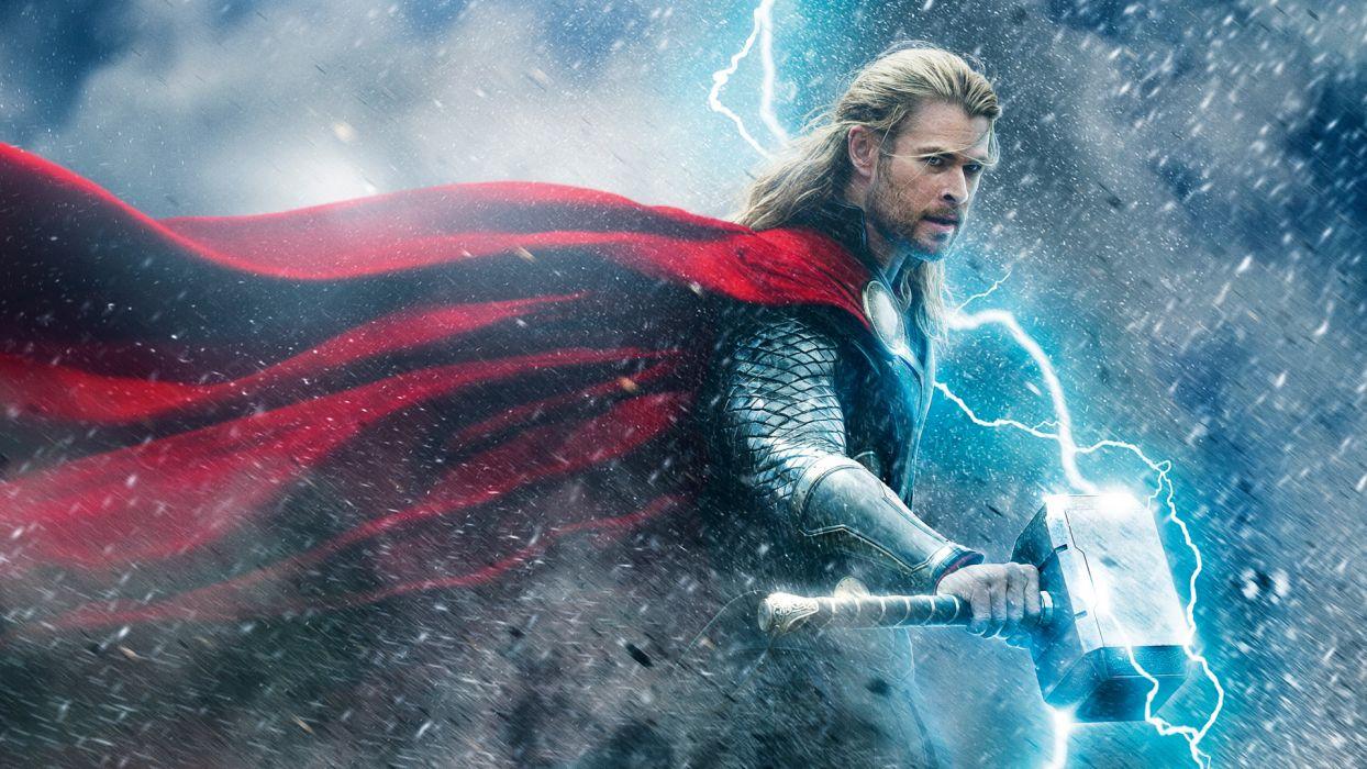 THOR DARK WORLD marvel superhero    f wallpaper