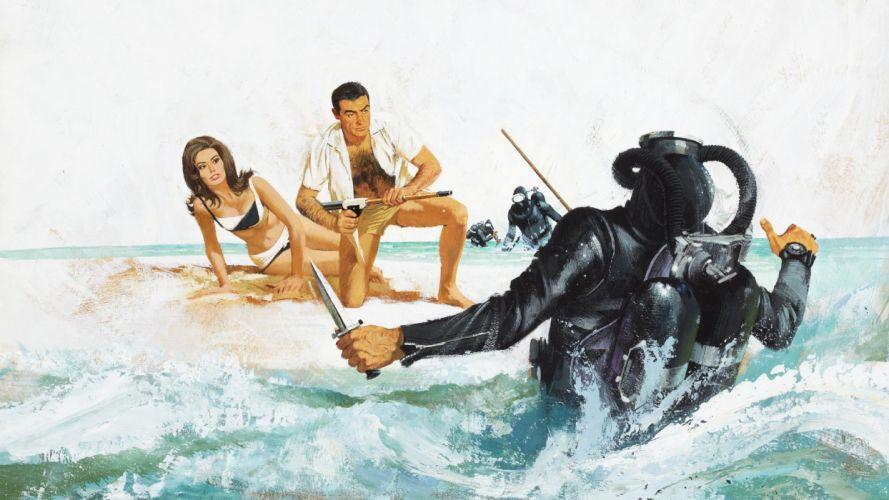 THUNDERBALL james bond 007 f wallpaper