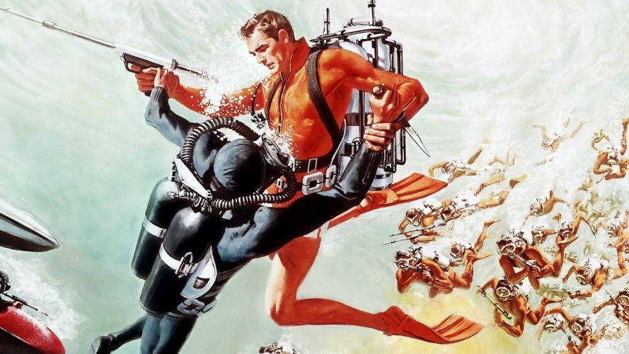 THUNDERBALL james bond 007 wallpaper