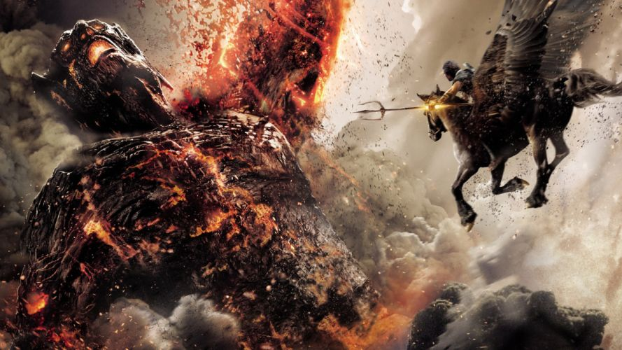 WRATH OF THE TITANS fantasy wallpaper