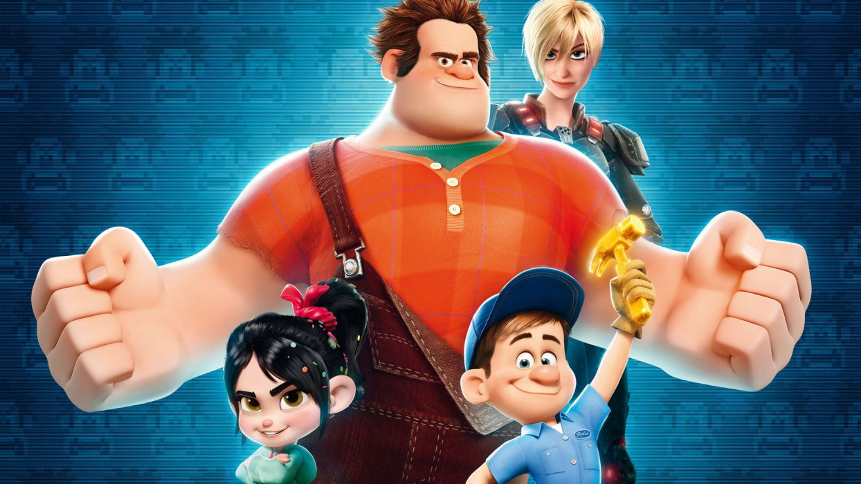 WRECK-IT RALPH   f wallpaper
