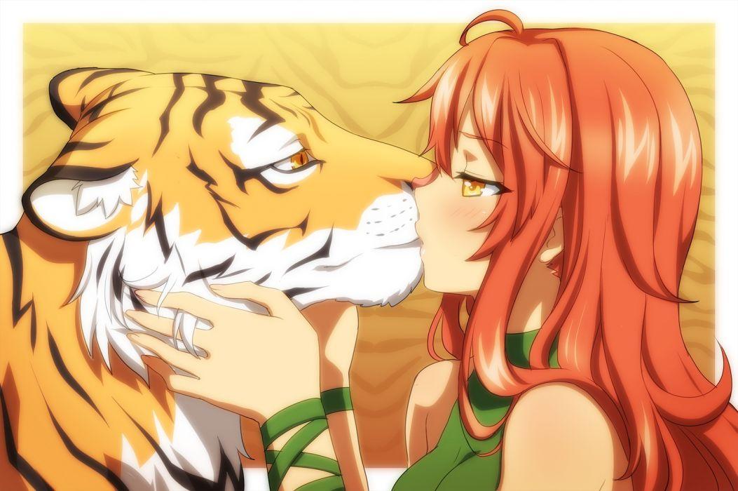 kiss original tiger vioka wallpaper