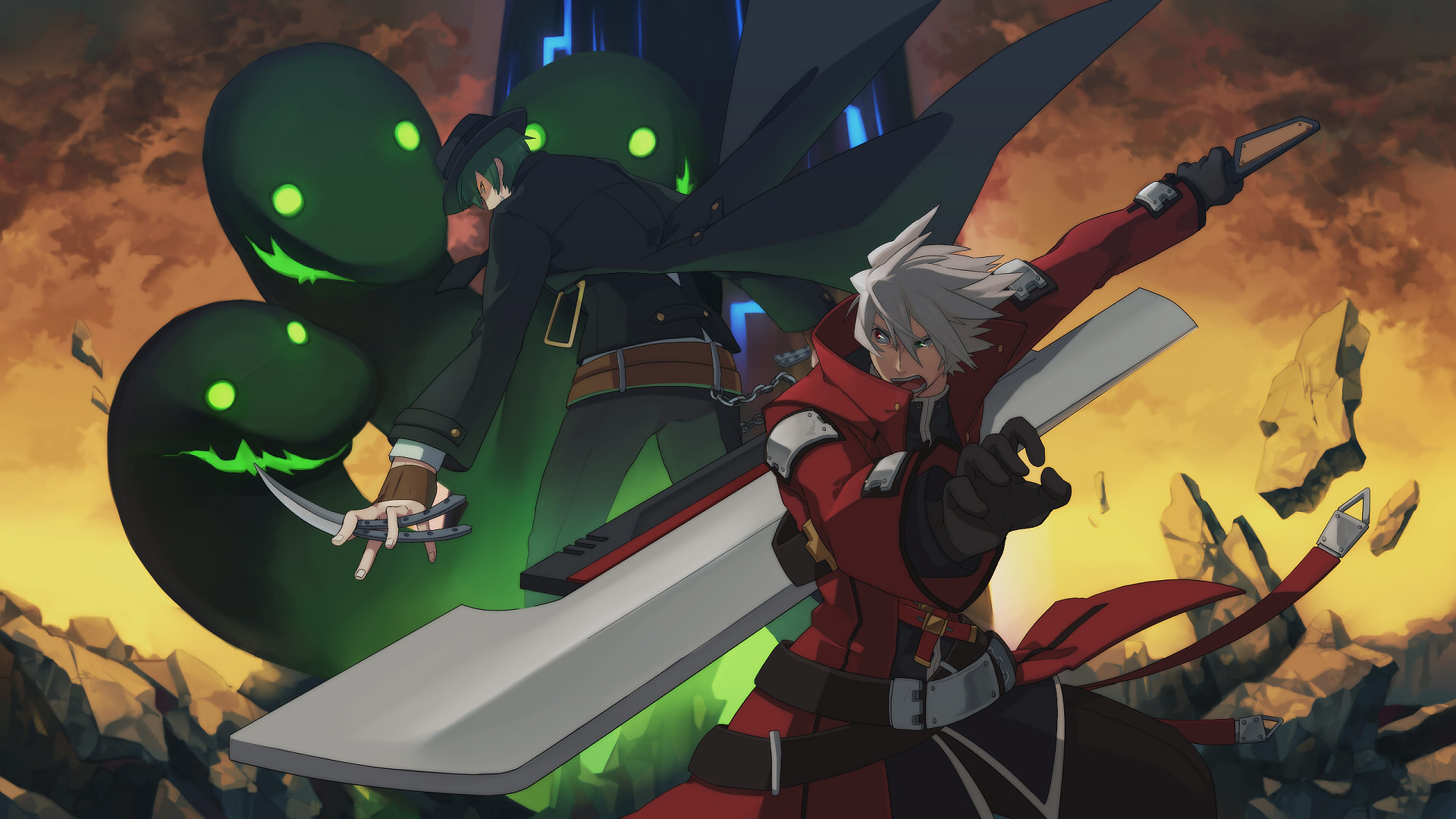 Blazblue Hazama Kz Kura Ragna The Bloodedge Wallpaper 1920x1080