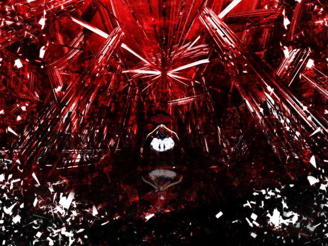 blazblue rachel alucard red wallpaper