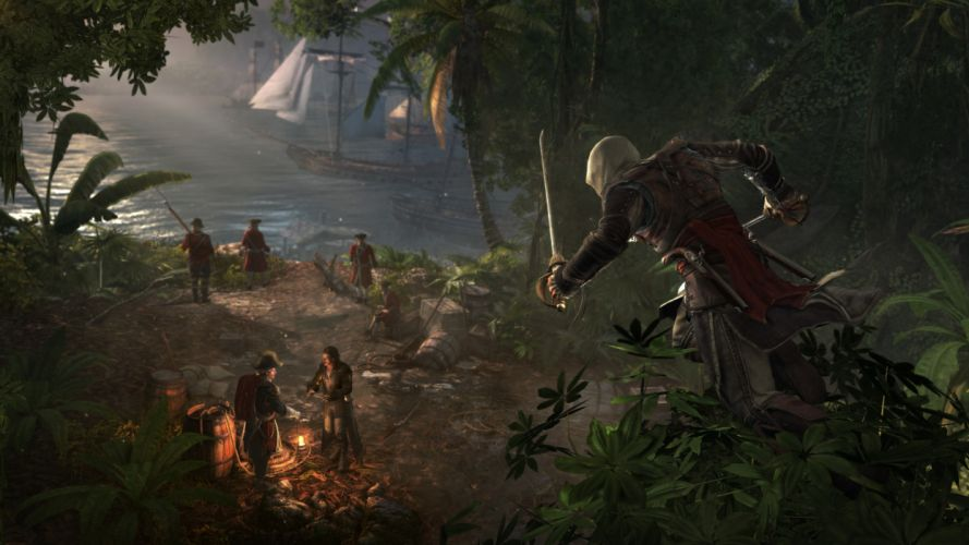 Assassins Creed Warriors Tropics Games wallpaper