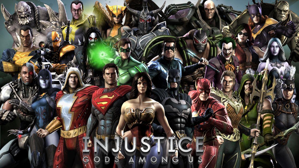 injustice superhero comic wallpaper